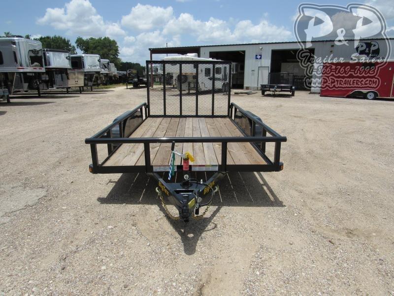 2019 Big Tex Trailers 60PI-12BK4RG Utility Trailer