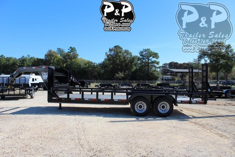 2019 P and P PPLB20X83HDFURPT 20 ft Utility Trailer