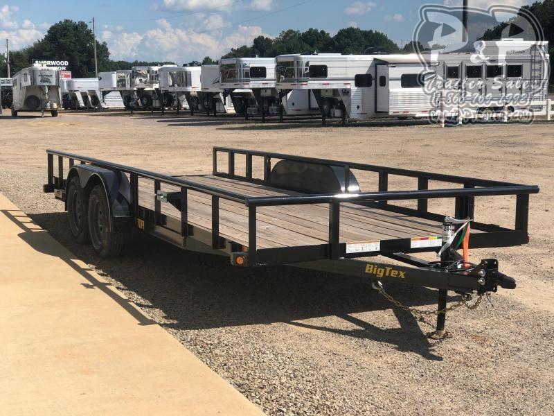 2020 Big Tex Trailers 70PI-20XBK 20' Utility Trailer