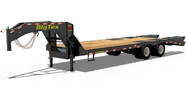 2019 Big Tex Trailers 3XGN-285 Equipment Trailer