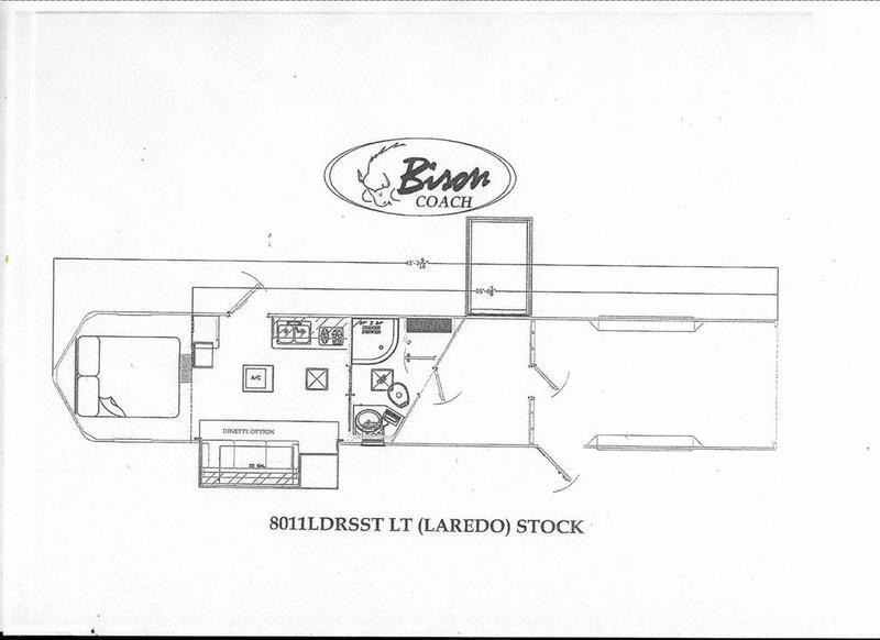 2019 Bison Laredo Stock 11' SW Living Quarters w/ 16' Stock Area