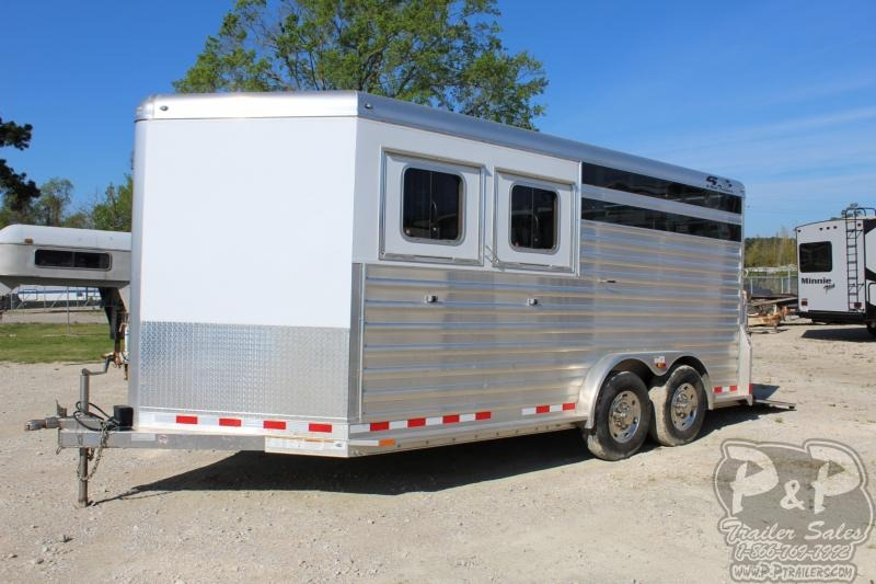 2017 4-Star Trailers 16 Stock Livestock Trailer