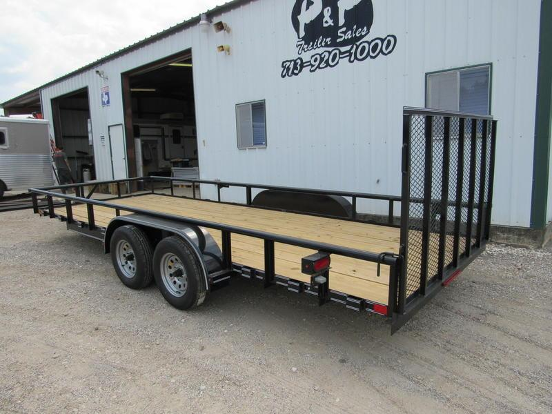 2018 Stagecoach 83 X 20 Pipe Top