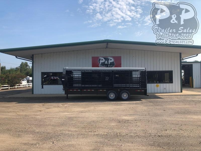 2019 CM CM Trailers CMS9440-20 Brush Buster 20x68x66 Livestock Trailer
