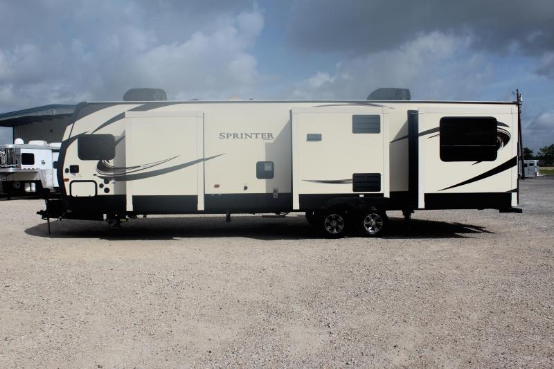 2018 Keystone Sprinter Wide Body 332DEN Travel Trailer RV