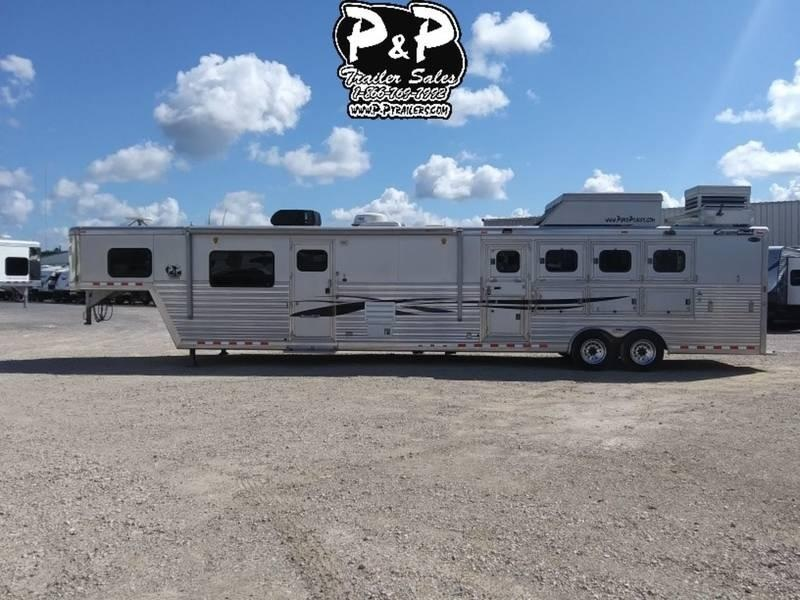 2007 Cimarron Trailers 4 Horse with 18' Short wall
