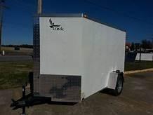 "2019 Lark VT612SA Enclosed Cargo Trailer 16"" side wall  Single Axle"