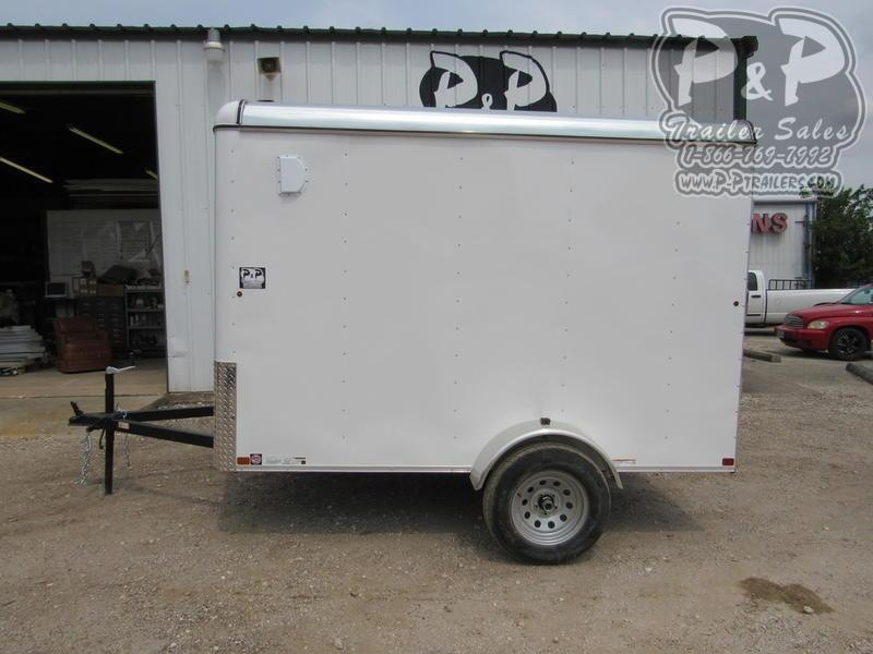 2019 Carry-On Trailer Cargo Trailers 6' x 10' CGR