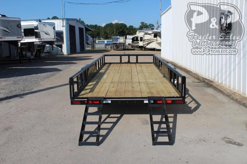 2019 P and P PPTA20x83MDSRPT 20 ft Utility Trailer