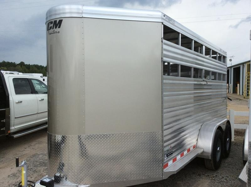 "2019 CM Trailers Stocker AL-V 16 ft. 6' 8"" W x 7' T"