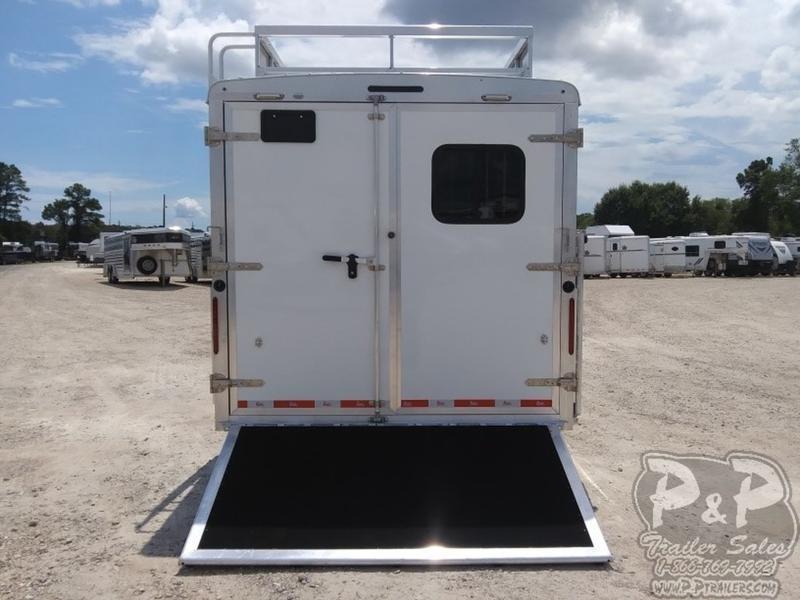 2019 Bison Trailers Laredo 8416LDSSRSL 4 Horse Trailer 16 LQ With Slides Slant