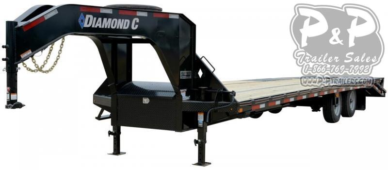 2019 Diamond C Trailers FMAX210SS Gooseneck Equipment Trailer
