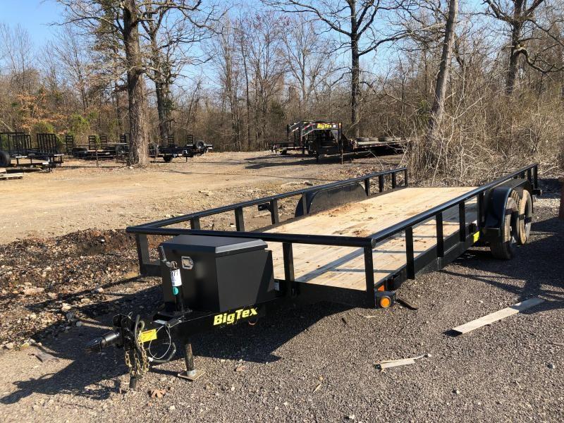 2019 Big Tex  70PI-20BK Equipment Trailer