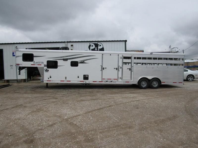 2019 Lakota Trailers Charger Livestock Edition 16' Stock 11' Living Quarter