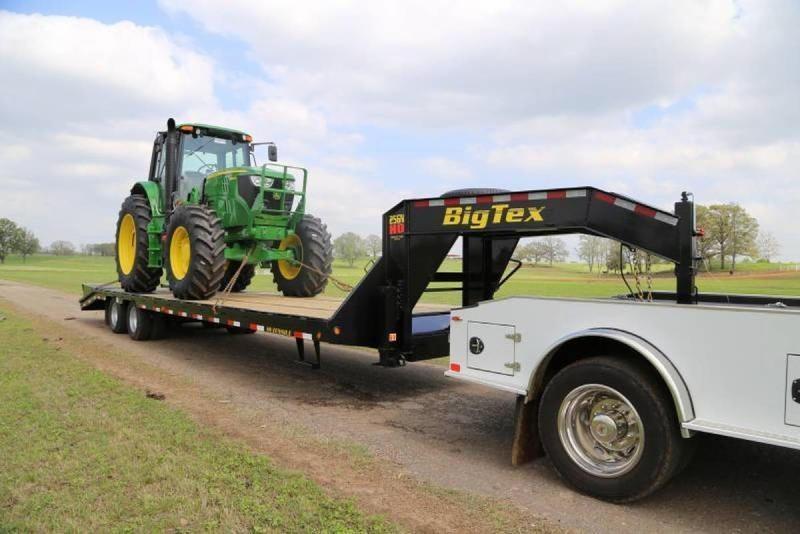 2020 Big Tex Trailers 22GN-35BK5MR 40' Flatbed Trailer