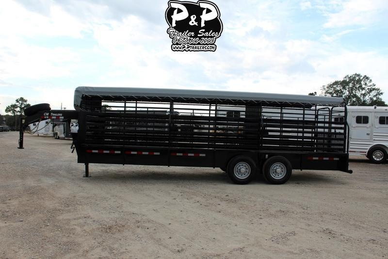 """2019 CM Trailers Brush Buster BT 24 ft. 6' 8"""" W x 6' 6"""" T"""