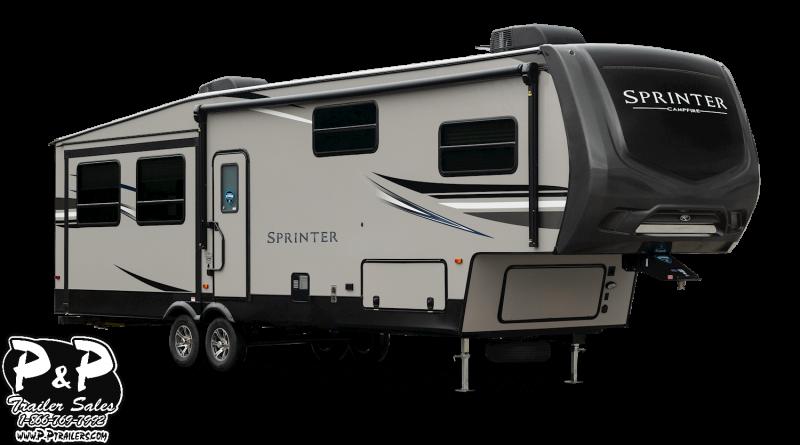 2019 Keystone Sprinter Campfire 29FWBH 34.58' Fifth Wheel Campers