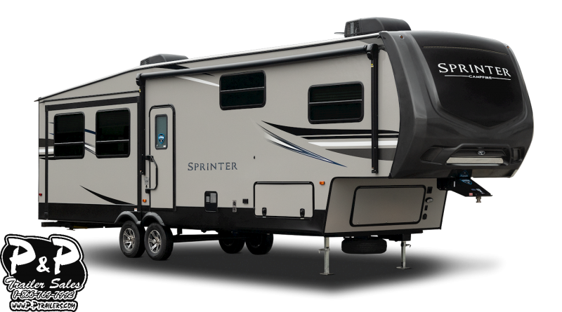 2019 Keystone Sprinter Campfire 29FWBH 34.58' Fifth Wheel Campers