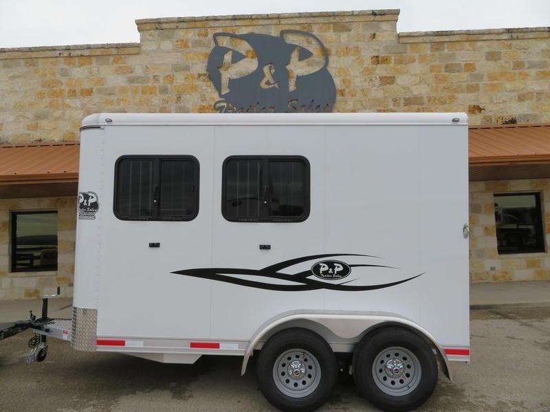 2019 P & P 2-Horse Slant Load in Ashburn, VA