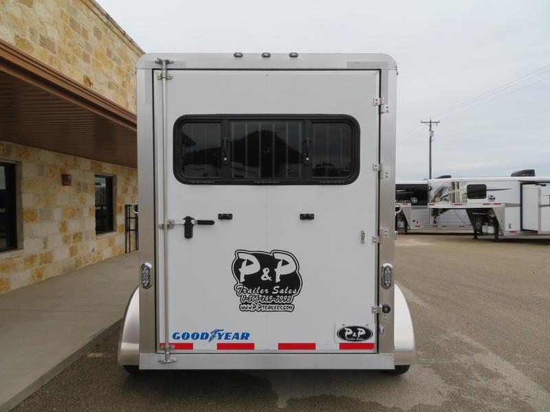 2019 P & P 2-Horse Slant Load