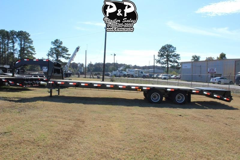 2019 P and P PPDT255X102HDMRLP 30' Flatbed Trailer in Ashburn, VA