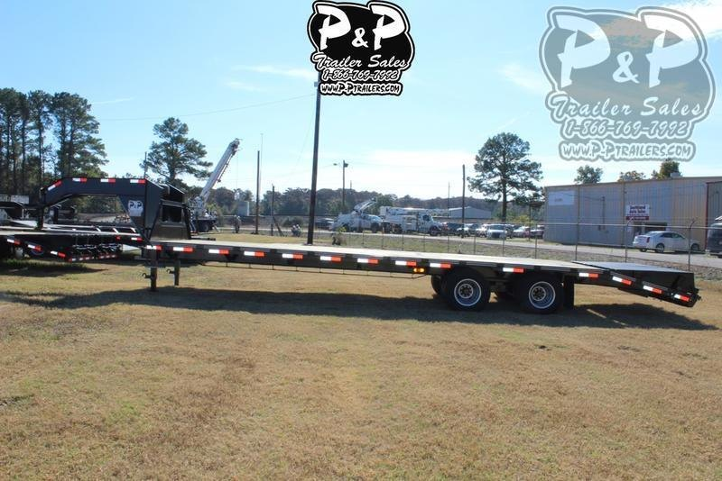 2019 P and P PPDT255X102HDMRLP 30' Flatbed Trailer