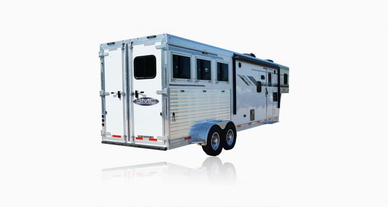 2019 SMC Horse Trailers SLX11SRK LARAMIE 3 Horse 11' LQ Horse Trailer Slant