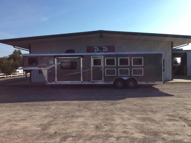 2020 Lakota AC8411 4 Horse Trailer 11' LQ With Slides