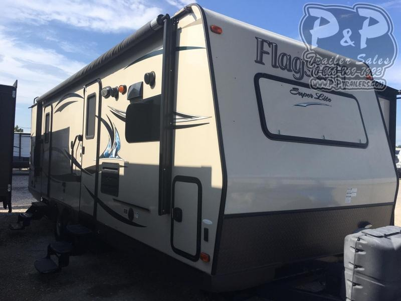 2013 Forest River Other Flagstaff 26FKWS 30 ft Travel Trailer RV
