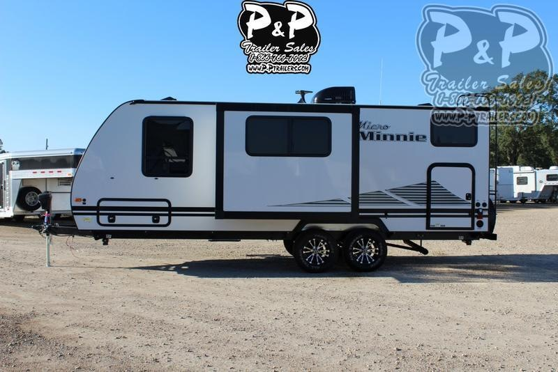 2019 Winnebago Micro Minnie 2306BHS 25.42 ft Travel Trailer RV