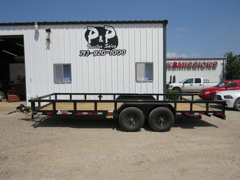 2019 Big Tex Trailers 7' x 20' HD TA