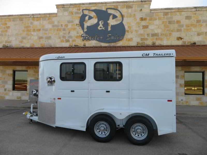 2019 CM Dakota 2 Horse Trailer