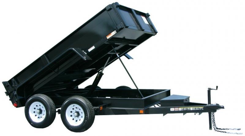 2019 Carry-On 6X10DUMPLP10K 10' Dump Trailer in Ashburn, VA