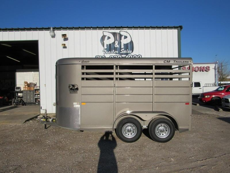 "2019 CM Trailers Dakota 2-Horse 14 ft. 6' W x 6' 6"" T"