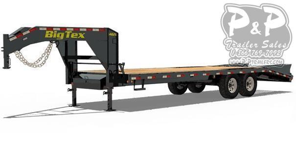 2020 Big Tex Trailers 14GN-22+5MR 27' ft Flatbed Trailer