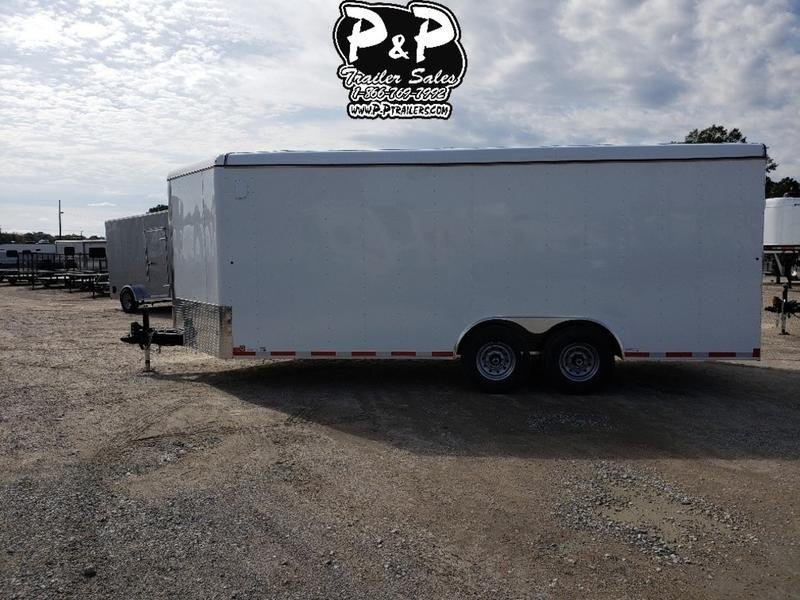 2019 Carry-On Trailer Cargo Trailers 8.5X20CGBN14K