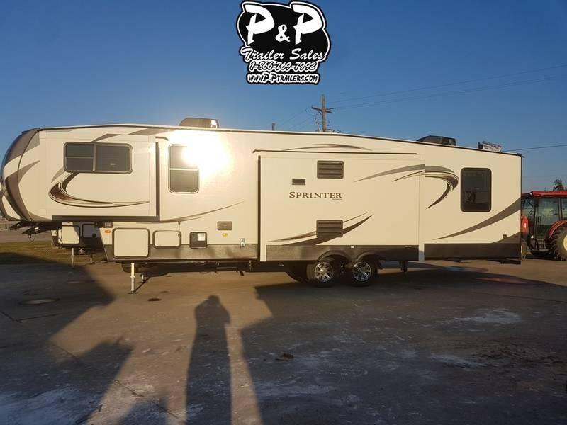 2020 Keystone RV Sprinter Limited 3340FWFLS 37.83' Fifth Wheel Campers LQ
