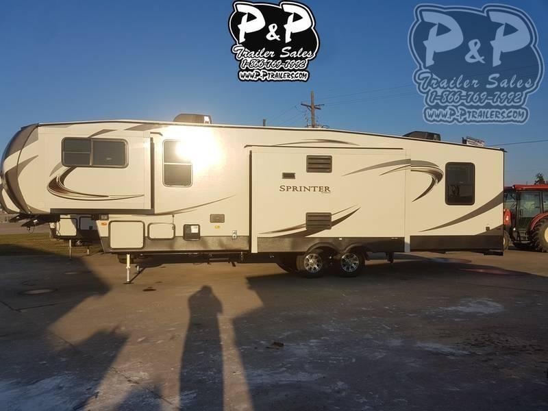 2020 Keystone Sprinter Limited 3340FWFLS 37.83' Fifth Wheel Campers LQ