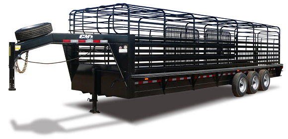 "2019 CM Trailers Brush Buster BT 20 ft. 6' 8"" W x 6' 6"" T"