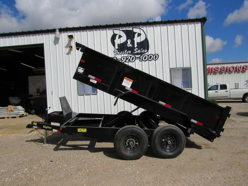 "2019 Big Tex Trailers 83""x 12' Tandem Dump 7SIR"