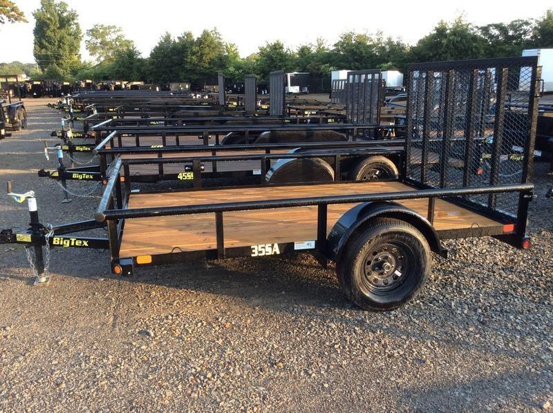 "2019 Big Tex 35SA-10BK4RG 6'5""x10 w/ Ramp Gate"