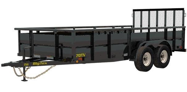 2019 Big Tex Trailers 70TV-12 Utility Trailer
