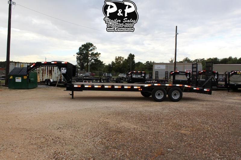 2018 P and P PPGNEQ24X102HDFURDOF 24' Flatbed Trailer in Ashburn, VA
