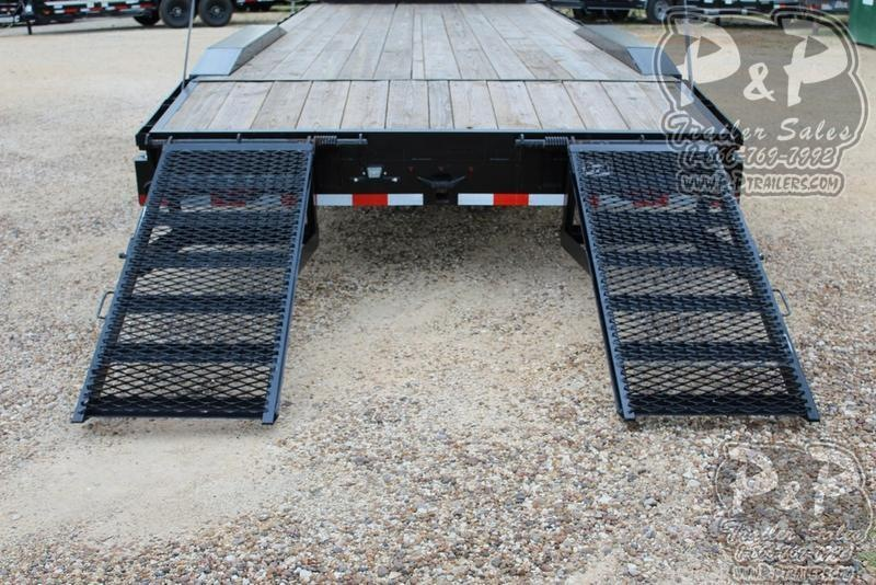 2019 P and P PPGNEQ24X102HDFURDOF 24 ft Flatbed Trailer