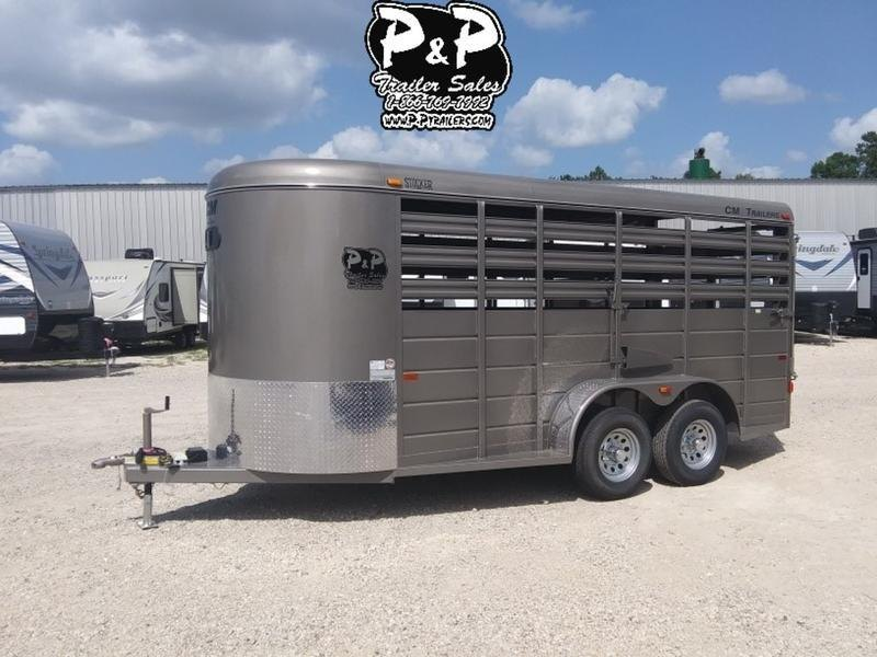 "2019 CM Trailers Stocker 16 ft. 6' W x 6' 6"" T"