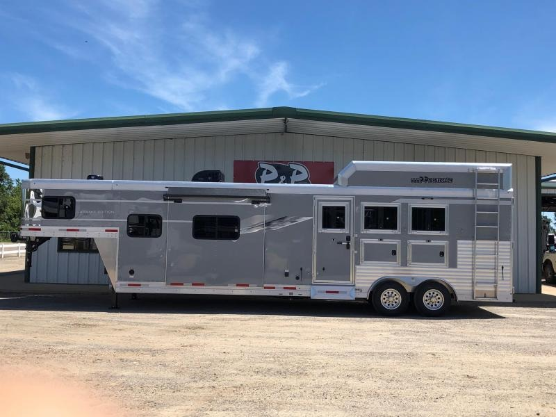 2020 SMC Horse Trailers 3H 8 Wide W/13 LQ 6' SLIDE 3 Horse Trailer 13 LQ With Slides Slant in Ashburn, VA