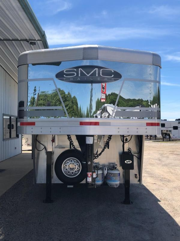 2020 SMC Horse Trailers SL8313SSR 3 Horse Trailer 13 LQ With Slides Slant