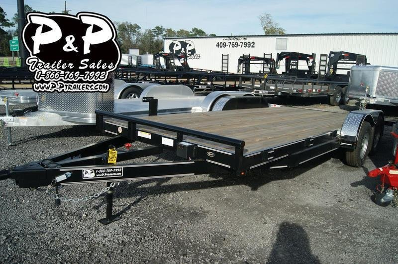 2019 P and P 83 X 18 WFCH 18' Car / Racing Trailer in Ashburn, VA