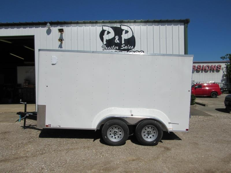 2019 Carry-On 7X14CGBN 14' Enclosed Cargo Trailer