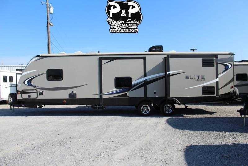 2018 Keystone Passport Elite 34MB 38.10' Travel Trailer LQ